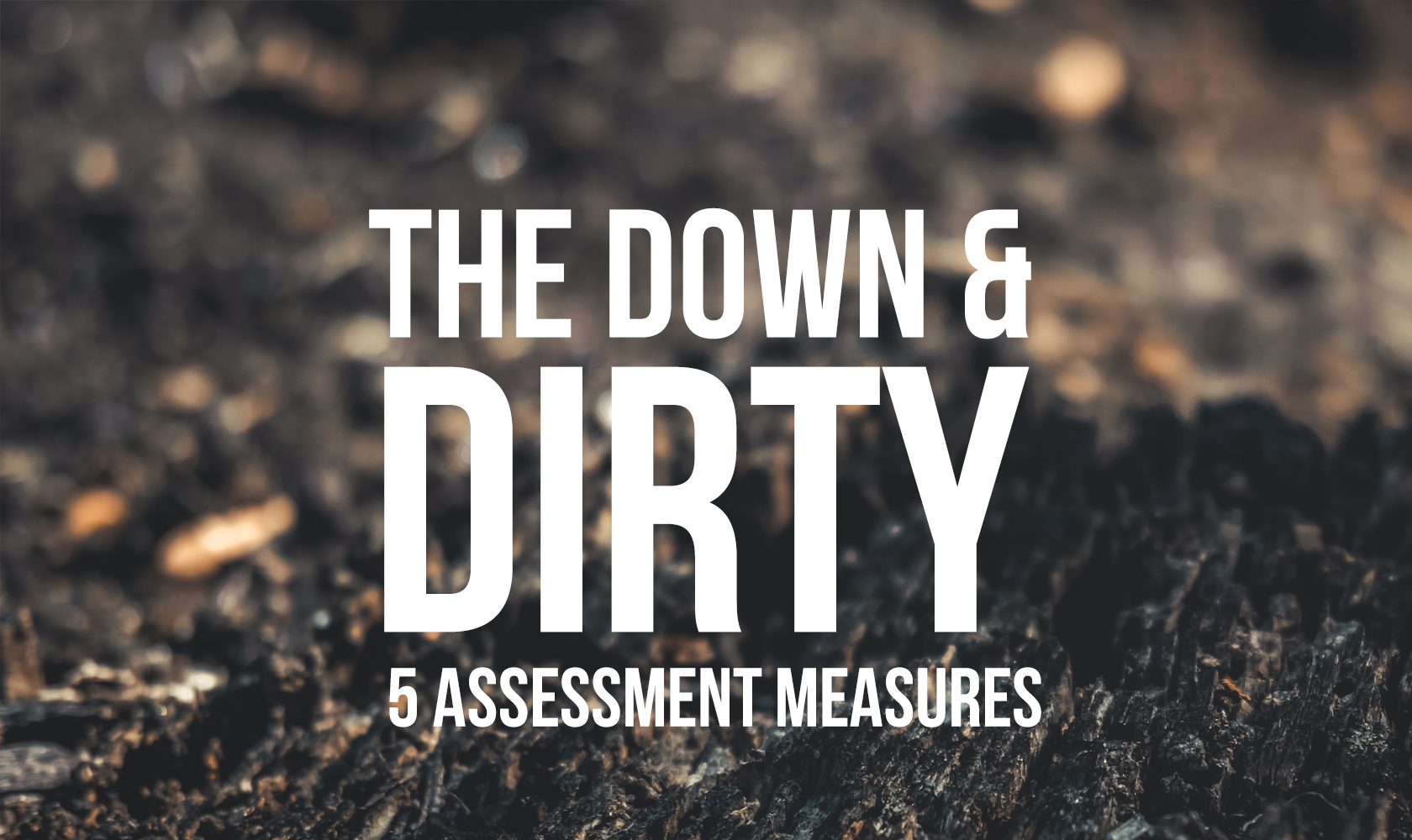 The Down and Dirty Five Assessment Measures
